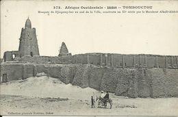 Afrique Occidentale - SOUDAN  - ( MALI ) , TOMBOUCTOU , Mosquée De Djingerey-ber Au Sud De La Ville , CPA ANIMEE - Mali