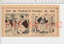 2 Scans Humour Napoléon à Sainte-Hélène écrevisses Uniforme Anglais Armée Anglaise Soeurs Siamoises 231G - Old Paper