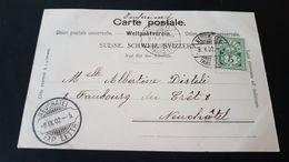 Neuchatel - Razor - Rasierklingen - Used Stamps