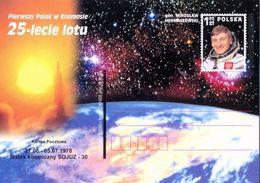 Cp 1310 Poland 25 Years Of The Flight Of Z. Hermaszewski 2003 - Space