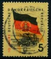 DDR 1959 Nr 722Y Gestempelt X8B8CBE - [6] República Democrática
