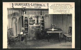 CPA Chateldon, Duaygues-Lotiron & Fils, Rue De L`Ollière - Chateldon