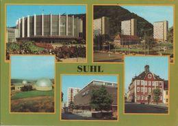Suhl - U.a. Waffenmuseum Und Hochhäuser - 1982 - Suhl