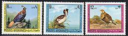 1973 Afghanistan Birds Set (** / MNH / UMM) - Oiseaux