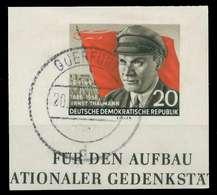 DDR 1956 Nr 520B Zentrisch Gestempelt X0E8F3A - [6] República Democrática