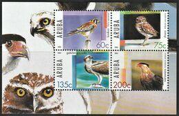 2005 Aruba Birds Of Prey Minisheet (** / MNH / UMM) - Aigles & Rapaces Diurnes