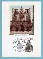 Carte Maximum 1981 - Lyon - Cathédrale Saint Jean - YT 2132 - 69 Lyon - 1980-89