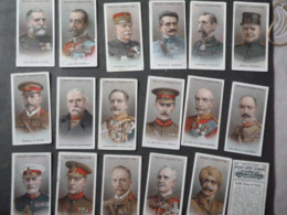 """CIGARETTES CARDS BY W.D &H.O.WILLS """"ALLIED ARMY LEADERS"""" 27 - Player's"""