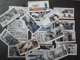 """CIGARETTES CARDS BY W.D &H.O.WILLS """"LIFE IN ROYAL NAVY"""" 45 - Player's"""