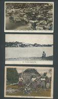 Fiji 5 Early Postcards , 2 Used 3 Unused - Fidji (...-1970)