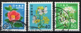 GIAPPONE - 1980 - Flowers  - USATI - 1926-89 Emperador Hirohito (Era Showa)