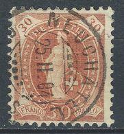 YY-/-460.- ZUMSTEIN N° 68E, OBL., MC II - DENT 11½ X 12 - COTE 2.75 € -  IMAGE DU VERSO SUR DEMANDE - Used Stamps
