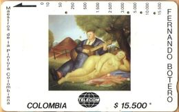 Colombia - CO-MT-30, Tamura, Concierto Campestre, Fernando Botero, Art, 15,500 $, Used As Scan - Kolumbien