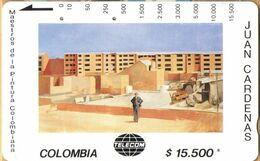 Colombia - CO-MT-38, Tamura, Edificios En Contruccion, Juan Cardenas, Art, 15,500 $, Used As Scan - Colombia