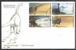 Portugal 1999 1 FDC Dinosaurs - Prehistorics