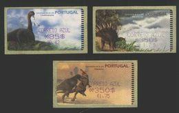 Portugal 1999 3 St. Dinosaurs - Prehistorics