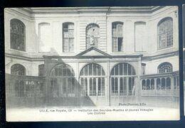 Cpa Du 59  Lille Rue Royale Institution Des Sourdes Muettes Et Jeunes Aveugles -- Les Cloîtres     LIL5 - Lille