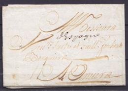 """L. Datée 6 Mars 1707 De CADIZ (Cadix) Pour Banquier à ANVERS - Man. """"d'Espagne"""" - 1621-1713 (Spanische Niederlande)"""