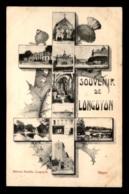 54 - LONGUYON - SOUVENIR - CROIX DE LORRAINE MULTIVUES - Longuyon