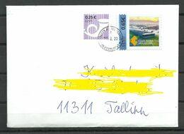 Estland Estonia 2020 Domestic Letter O JÕGEV KANDEKESKUS - Estonia