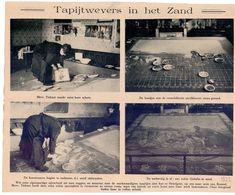 Orig. Knipsel Coupure Tijdschrift Magazine - Hekelgem - Mevr. Tiebaut En Haar Zandtapijten - 1922 - Unclassified