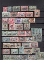 Congo Belge  Lot De Timbres   Avec  Surcharges - Collections