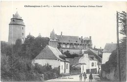 CHATEAUGIRON : ARRIVEE ROUTE DE SERVON - Châteaugiron