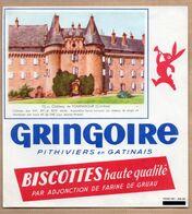 Vieux Papiers > Non Classés Biscottes Gringoire Chateau De Pompadour - Sin Clasificación