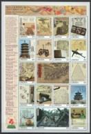 EC101 LIBERIA MILLENNIUM 1000-2000 SCIENCE & TECHNOLOGY OF ANCIENT CHINA 1SH MNH - History