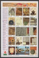EC105 MICRONESIA MILLENNIUM 0-1000 SCIENCE & TECHNOLOGY OF ANCIENT CHINA 1SH MNH - History