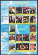 EC107 NEVIS MILLENNIUM 1000-2000 20TH CENTURY 1990-1999 THE 1990'S 1SH MNH - History