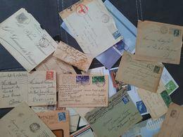 Lettres Et Cartes Postal Anciennes - Collezioni (in Album)