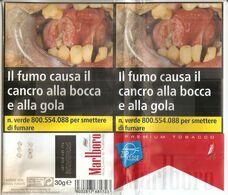 MARLBORO CIGARETTE TOBACCO TABACCO PER SIGARETTA ITALY  SIGARETTE - Boites à Tabac Vides