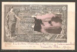 Carte P De 1905 / Suisse  ( Billet De Banque / Représentation ) - Monete (rappresentazioni)