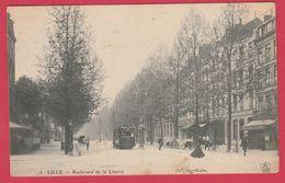 Lille - Boulevard De La Liberté ... Tramway -1906 ( Voir Verso ) - Lille