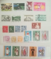 SUOMI FINLAND LOT OF NEWS MNH** AND USED STAMPS - Collections