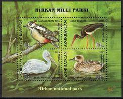 2013 Azerbaijan Birds Of Hirkan National Park Minisheet (** / MNH / UMM) - Oiseaux