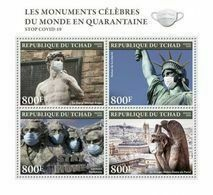 CHAD 2020 - Monuments In Quarantine, COVID-19. Official Issue [TCH200306a] - Chad (1960-...)