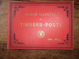 Album Maury Ancien Début 1900 Très Bon état Avec Timbres (environ 300) - Collections (with Albums)