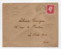 - Lettre AGENCE UNIVERS, LILLE Pour LA FERTÉ-MACÉ (Orne) 16.2.1945 - 1 F. 50 Groseille Marianne De Dulac - - Briefe U. Dokumente