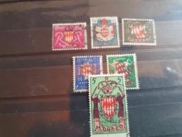 Monaco 1954 Yt405/11 -409c  Armoiries  Oblitere - Used Stamps