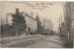 63 LEZOUX La Gare - Estaciones Con Trenes