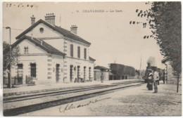 10 CHAVANGES  La Gare - Estaciones Con Trenes