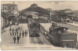 51 CHALONS-sur-MARNE La Gare (intérieure) - Estaciones Con Trenes