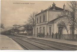 54 FONTENOY-sur-MOSELLE La Gare - Estaciones Con Trenes