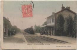 89 CHARNY  Intérieur De La Gare - Estaciones Con Trenes