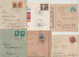 Deutschland / Belegeposten, Rd. 90 Belege (DA68-320R) - Stamps