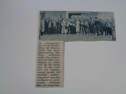 """Origineel Knipsel ( 6078 ) Uit Tijdschrift """"  De Stad """"  1937 :  E. Van Wonterghem  Kuurne  Cuerne - Zonder Classificatie"""