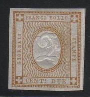 1862 2 C. Stampe MNH Firmato Diena - Nuovi