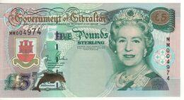 GIBRALTAR  Commerative £5    ( Millennium  2000 )   P29    UNC - Gibilterra